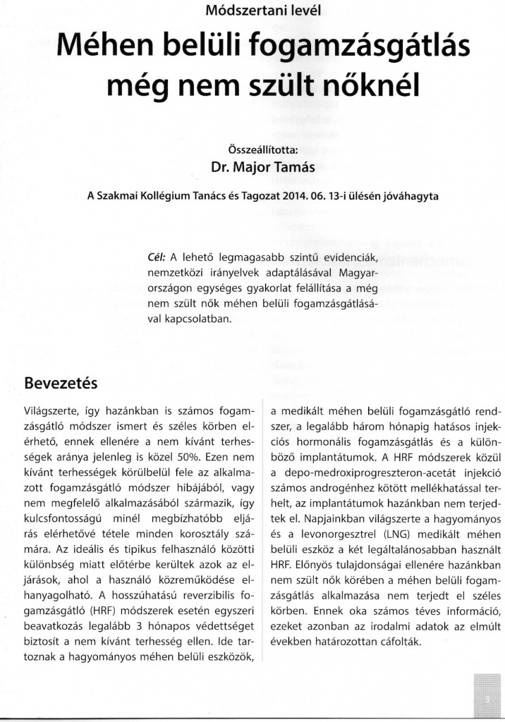 1. oldal - Bevezetés